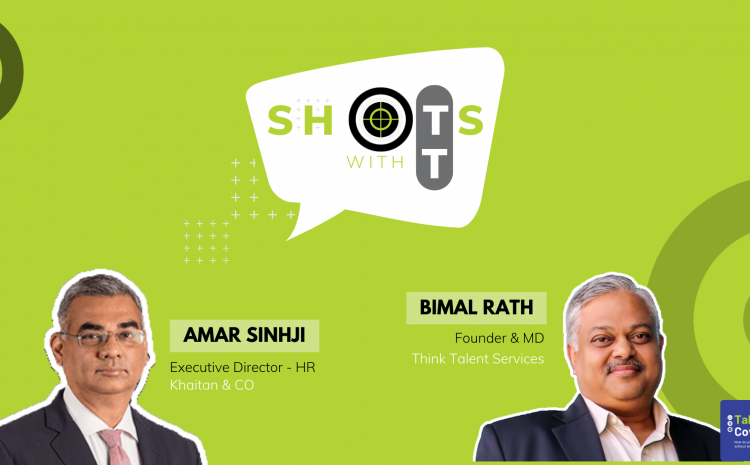 Shots with TT - 14 - Perspectives on Talent in a Professional Services Firm with Amar Sinhji